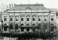Az Sándor utcai képvislőház épülete, 1866 és 1902 között funkcionált
