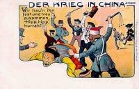 Kína és a nagyhatalmak - karikatura