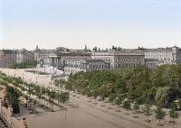 A bécsi parlament, 1900