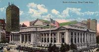 A New - York - i nyilvános könyvtár 1905 - ben