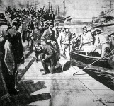A Potemkin legénységének partaraszállása