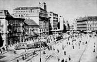 Zágrábi korabeli képeslap