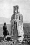 Kőszobor a mukdeni császár-sírokhoz vezető uton