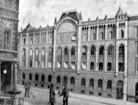 Magyarországi munkások rokkant- és nyugdíj egyesületének háza