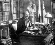Kossuth Ferencz dolgozószobájában