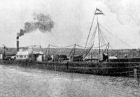 Dunai áruszállító hajó