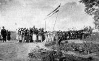 Aratási ünnep a Karádi uradalomban