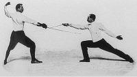 Vívómesterek az 1900-as olimpián