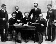 A NOB első tagjai 1896-ban