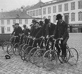 Kerékpárosok Dániában