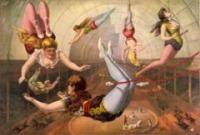 Női artisták a trapézon