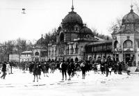 A városligeti műjégpálya a század elején