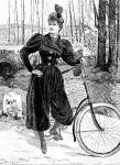 Kerékpáros öltözet, 1900
