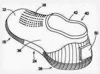 Vízi cipő terve