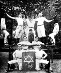 Tornászcsapat 1902-ből