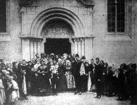 József főherceg mint násznagy egy cigányvajda gyermekének esküvőjén