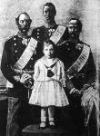 IX. Keresztély dán király családjával