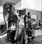 Képek az Uránia műkereskedés kiállításából