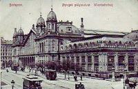 Nyugati pályaudvar az 1900-as évek elején