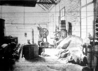 Fürészporból alkoholt előállitó kisérleti gyár s a fürészpor a czukrositás előtt