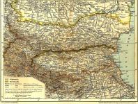 Bulgária térképe