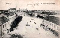 Zombor város madártávlatból