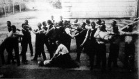 A szombathelyi városi rendőrség japán birkozása