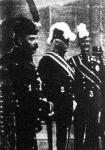 Rakovszky István képviselőházi alelnök, báró Beck miniszterelnök  és Auersperg osztrák földművelésügyi miniszter