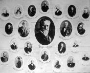A Budapesti Kereskedelmi Akadémia vezérlőbizottságának tablója