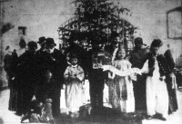 Karácsony a toloncházban