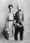Erzsébet főhercegnő és férje Windisch - Graetz Ottó