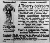Korabeli reklám 1907