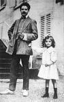 Toselli zongoraművész és a kis Pia Monica