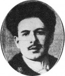 Toselli, olasz zongoraművész, aki Londonban a minap vette feleségül Montignoso grófnőt, a szász király elvált feleségét