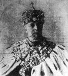 II. Oszkár svéd király, aki a minap halt meg 78 éves korában