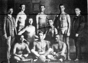 A Balatoni Uszók Egyesülete, Magyarország 1905. évi vízipoló bajnok csapata