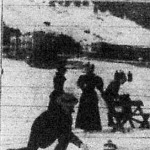 Curlingeznek a davosi jégpályán