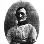 Ujfalussy Gábor, a tőrverseny győztese