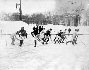 Jéghoki csapat 1902-ből