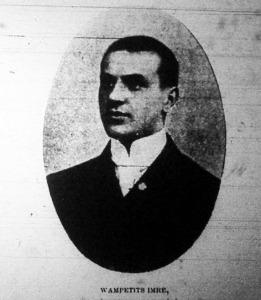 Wampetits Imre, Magyarország gyorskorcsolyázó bajnoka 1904-ben