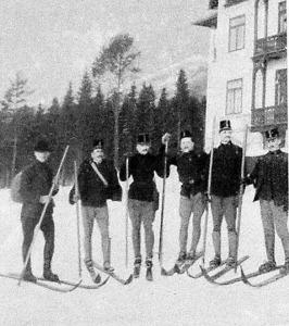 Ski-futó tiszti csoport