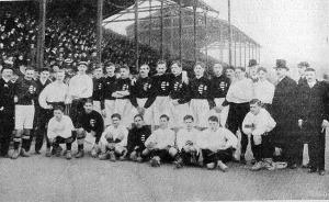 Az április 9-iki budapesti magyar-osztrák labdarúgó mérkőzésben szerepelt csapatok