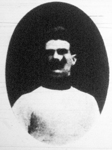 Schenker Zoltán, a kardfőverseny második helyezettje