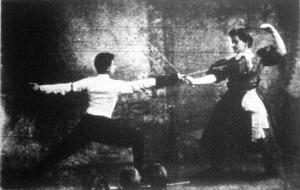 Fodor Gábor és Somló Sárika asszója