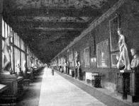 Az első csarnok az Uffizi -galériában