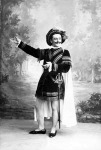 Jelenet A velencei kalmárból - Pázmán Ferencz, mint Gratiano