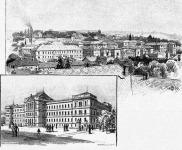 Ferenc József Egyetem központi épülete
