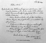 Csányi lászló utolsó levele