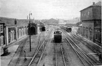 A pályaudvar a Ferdinánd-hídról