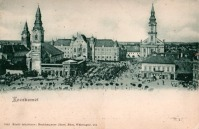Kecskemét, Szabadság tér és a városháza